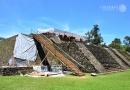 Zemětřesení přispělo k odhalení aztéckého chrámu uvnitř pyramidy